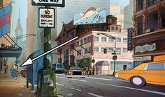 Aurora From Sleeping Beauty Can Be Seen In The Background Of The Streets In Oliver And Company. Disney Pixar, Walt Disney, Disney Facts, Cute Disney, Disney And Dreamworks, Disney Trips, Disney Magic, Big Hero 6, Hidden Disney Characters