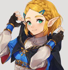 Legend of Zelda Breath of the Wild sequel art > Princess Zelda > botw 2 The Legend Of Zelda, New Zelda, Legend Of Zelda Breath, Animal Crossing, Robin Drawing, Princesa Zelda, The Perfect Girl, Breath Of The Wild, Vaporwave
