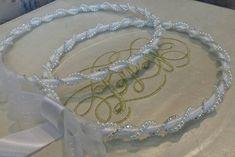 New to Heraeventstore on Etsy: Greek Stefana !!! Handmade orthodox wedding Crowns / Tiaras / Headbands - Stefana Gamou (38.90 USD)