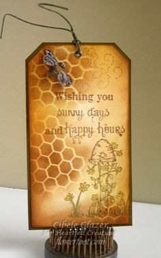 Heartfelt Creations | Bussy Bee Sunny Days Tag