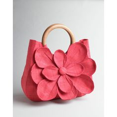 Mar Y Sol Floral-Detail Straw Tote With Wooden Handles