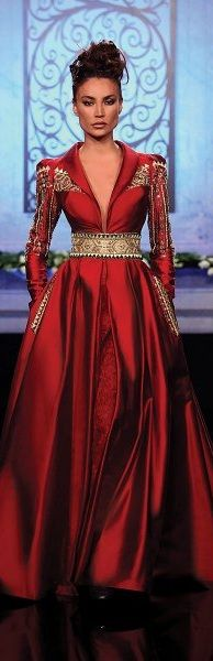 this would be a great mother of the  bride dress for a Christmas or Valentine themed wedding