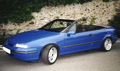 Opel_Calibra_Cabrio_blau   Mark Edwards   Flickr