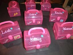Barbie Personalized  Party Favors by decoratedessentials on Etsy, $4.25