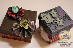 Chattering Robin's: Halloween Treat Boxes by Mallika