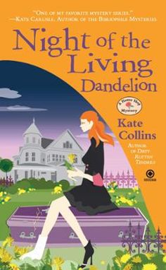 Night of the Living Dandelion by Kate Collins, Click to Start Reading eBook, Flower shop owner Abby Knight does not believe rumors that Vlad Serban, friend and employee of Abby's
