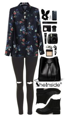 """""""SheIn 7"""" by scarlett-morwenna ❤ liked on Polyvore featuring Topshop, 3.1 Phillip Lim, NARS Cosmetics, Aesop, MAKE UP FOR EVER, Givenchy, BOBBY and vintage"""