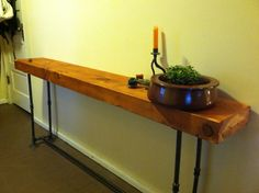 metal pipe table - Google Search