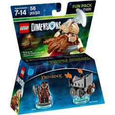 LEGO Dimensions Gimli (Lord of the Rings) Fun Pack (Universal)