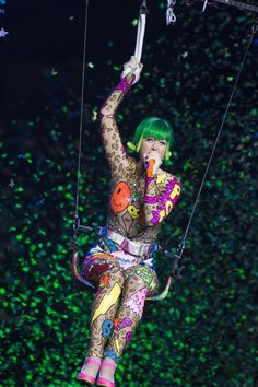Katy Perry performs during a concert in Milan, Italy, on Feb. Melanie Martinez, Katy Perry Tour, Katy Perry Albums, Katy Perry Costume, Katy Perry Wallpaper, Prismatic World Tour, Katy Perry Pictures, I Kissed A Girl, Fantasias Halloween