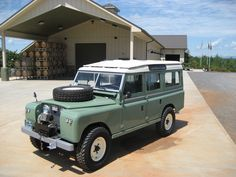 Land Rover Series IIA.  Want to own, so cool and rugged!