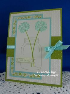 SC427 & DD#43~ Just for You by WeeBeeStampin - Cards and Paper Crafts at Splitcoaststampers