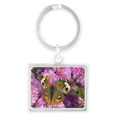 Common Buckeye Butterfly Keychains