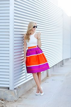 party perfect in brights and whites  I adore this outfit...can they make it for short people?  :)