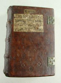 Bound in the North German monastery Bordesholm in Holstein between 1470 and 1488