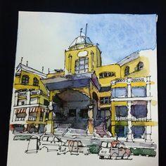 Day 12 - Jotic  #ramadhansketchchallenge2015 #klsketchnation #johorsketchers #archilovers #arch #architecturelovers #architecture #architectureporn | por Hafizal_Nordin