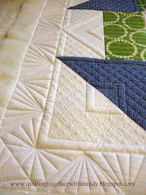 Quilting Together: Post 43- Quilter's Haven Churn Dash Quilt