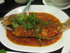 Spicy Red Snapper - Thai Style - Oh! Reminds me of the ambiguous chili ...