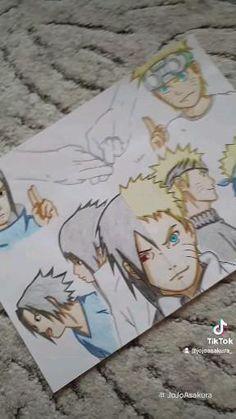 Naruto Sharingan, Naruto And Sasuke, Anime Naruto, Naruto Painting, Videos Anime, Naruto Sketch, Balerina, Anime Drawings Sketches, My Hero Academia Episodes