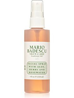 Mario Badescu Facial Spray with Aloe, Herbs and Rosewater, 4 oz. ❤ Mario Badescu