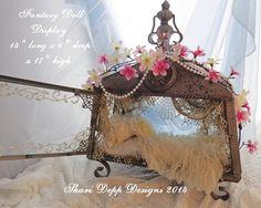 Fantasy Doll Display  Case by Shari Depp by ShariDeppDesigns, $135.00