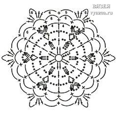 Crochet Snowflake Pattern, Crochet Stars, Crochet Circles, Crochet Snowflakes, Crochet Granny, Irish Crochet, Crochet Motif, Crochet Doilies, Crochet Patterns
