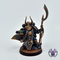 Thousand sons (Tzeentch) - Ahriman #ChaoticColors #commissionpainting #paintingcommission #painting #miniatures #paintingminiatures #wargaming #Miniaturepainting #Tabletopgames #Wargaming #Scalemodel #Miniatures #art #creative #photooftheday #hobby #paintingwarhammer #Warhammerpainting #warhammer #wh #gamesworkshop #gw #Warhammer40k #Warhammer40000 #Wh40k #40K #chaos #warhammerchaos #warhammer40k #tzeentch #thousandsons #Ahriman Thousand Sons, Warhammer 40000, Tabletop Games, Gw, Weapons, Armour, Miniatures, Change, Fantasy