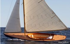 Herreshoff Watch Hill 15 -- my favorite boat builder. The lines on this are perfect.