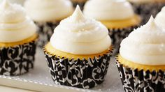Fluffy Vanilla Cupcakes | Bake With Anna Olson