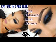 Maquillaje Delineado Colorido pliegue marcado /Cut crease Colorful Eyeliner Makeup | auroramakeup - YouTube
