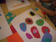 The Elementary Art Room!: Kandinsky Circles.  2nd Grade