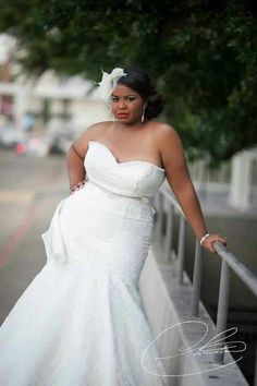 Plus Size Brides Beautiful Gown Being A Queen