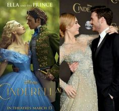 Ella and the Prince ♥ Lily James and Richard Madden