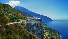 Mount Athos, Simonopetra Monastery, Greece by Mark Two on 500px