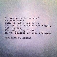 The Silence by William C. Hannan