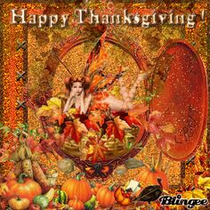 "blingee graphics thanksgiving | This ""happy thanksgiving"" picture was created using the Blingee free ..."