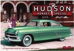 Moebius Models | 1954 Hudson Hornet Club Special 1:25 Scale | Bellford Toys And Hobbies Hudson Hornet, Plastic Model Cars, Model Cars Kits, American Motors, Jeep Cars, Motor Car, Scale Models, Cadillac, Ebay