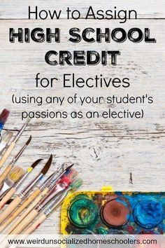 Learn how to assign high school credit for electives for your teen's passions and hobbies, and when and how you should award more than one credit. How to Assign High School Credit for Electives Homeschool High School, High School Credits, Importance Of Time Management, College Courses, High School Courses, Online College, Home Schooling, School Organization, High School Students