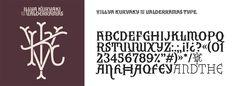 Logo y tipografía Illya Kuryaki and the Valderramas Type