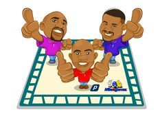 Emeka, Ime, and Amaete.  Gamers for life!