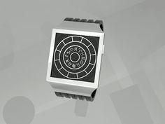 Zodiac Concept clock