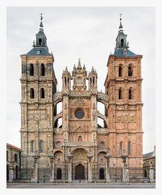 Catedral de Astorga (1471-XVIII). Gotico tardio, renacimiento, barroco. Astorga, Castilla y Leon, España. Photo credit : Markus Brunetti.
