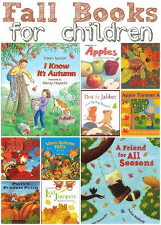 Really good list of  picture books for kids about Fall.