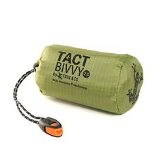 Tact Bivvy Compact Ultra Lightweight Sleeping Bag - Waterproof Ultralight Thermal Bivy Sack Cover, Emergency Space Blanket Liner Bags for Emergency Shelter, Tent Camping & Survival Gear Kit Tent Camping, Camping Gear, Camping Stove, Outdoor Camping, Camping Tools, Camping Essentials, Outdoor Gear, Compact Sleeping Bag, Tesla Lighter