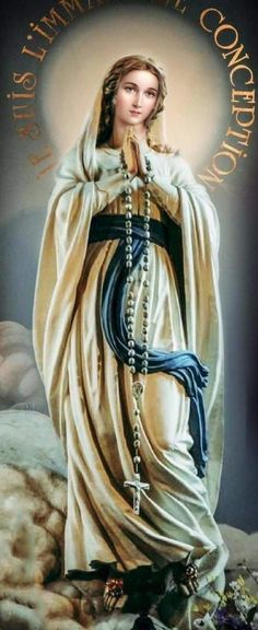 Divine Mother, Blessed Mother Mary, Blessed Virgin Mary, Mother Mary Images, Images Of Mary, Catholic Pictures, Pictures Of Jesus Christ, Madonna, Immaculée Conception