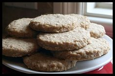Looking for the perfect Nova Scotia Oatcakes recipe? Plus, we have experts on hand to answer questions as you cook. Sweet Desserts, No Bake Desserts, Sweet Recipes, Dessert Recipes, Salad Recipes, Baking Recipes, Cookie Recipes, Scottish Dishes, Scottish Oat Cakes