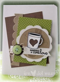 coffee card #diy #crafts