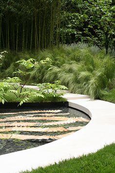 Silver Moonlight Garden