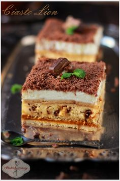 "Ciasto ""Lion"" / cake with Lion bars"