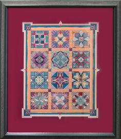 Stars for a New Millenium by Tony Minieri Needlepoint Designs, Needlepoint Stitches, Needlework, Canvas Designs, Modern Colors, Bargello, Plastic Canvas, Line Drawing, Cross Stitch Patterns